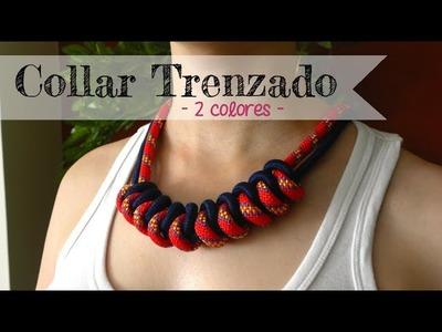 Cómo hacer: Collar de nudos - Knotted necklace