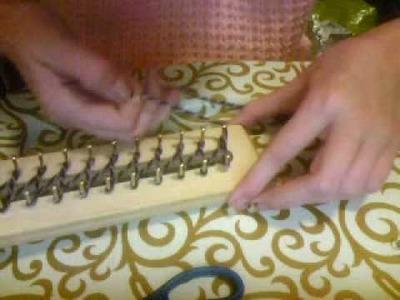 Como Hacer una Bufanda(video extra)