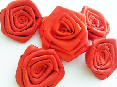 Episodio 700- Cómo hacer rosas grandes con listón  [SALUDOS]