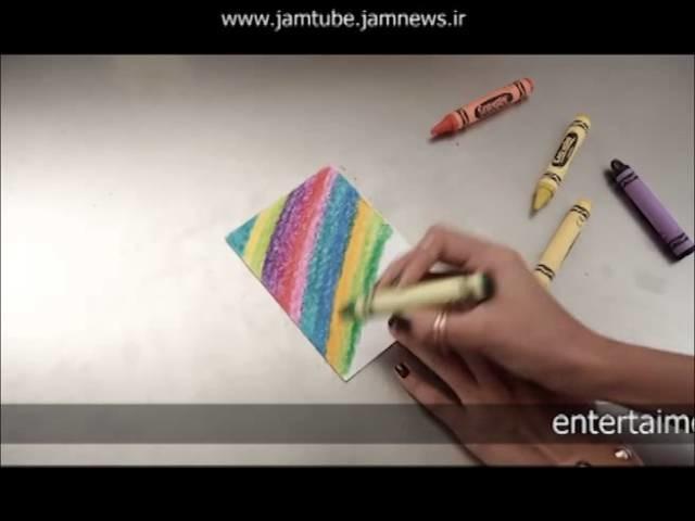 Fácil y Bonito Detalle con Crayolas  PAPER POP