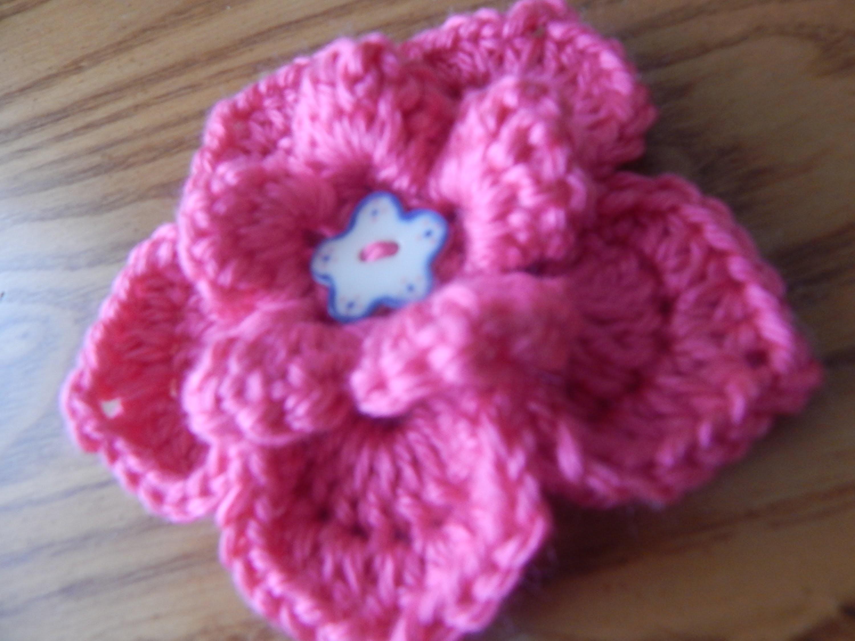 Flor # 5 para la Banda  de 2 agujas