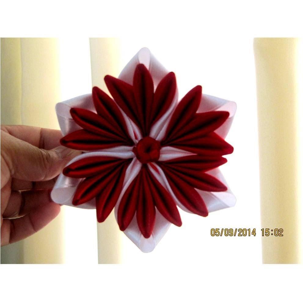 Flores pétalos tulipán en cintas para el cabello
