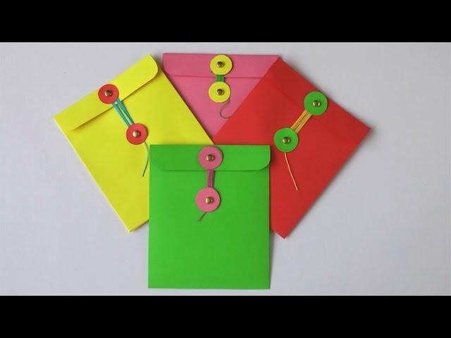 Manualidades para regalar - Sobre para carta o tarjeta - Manualidades para todos
