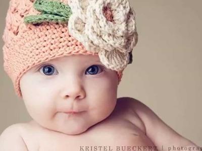 Modelos de gorros tejidos a crochet para bebes y niños
