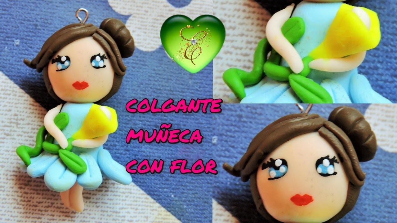 Muñeca de Arcilla Polimerica o Fimo. Polymer Clay Kawaii Doll. Porcelana fría