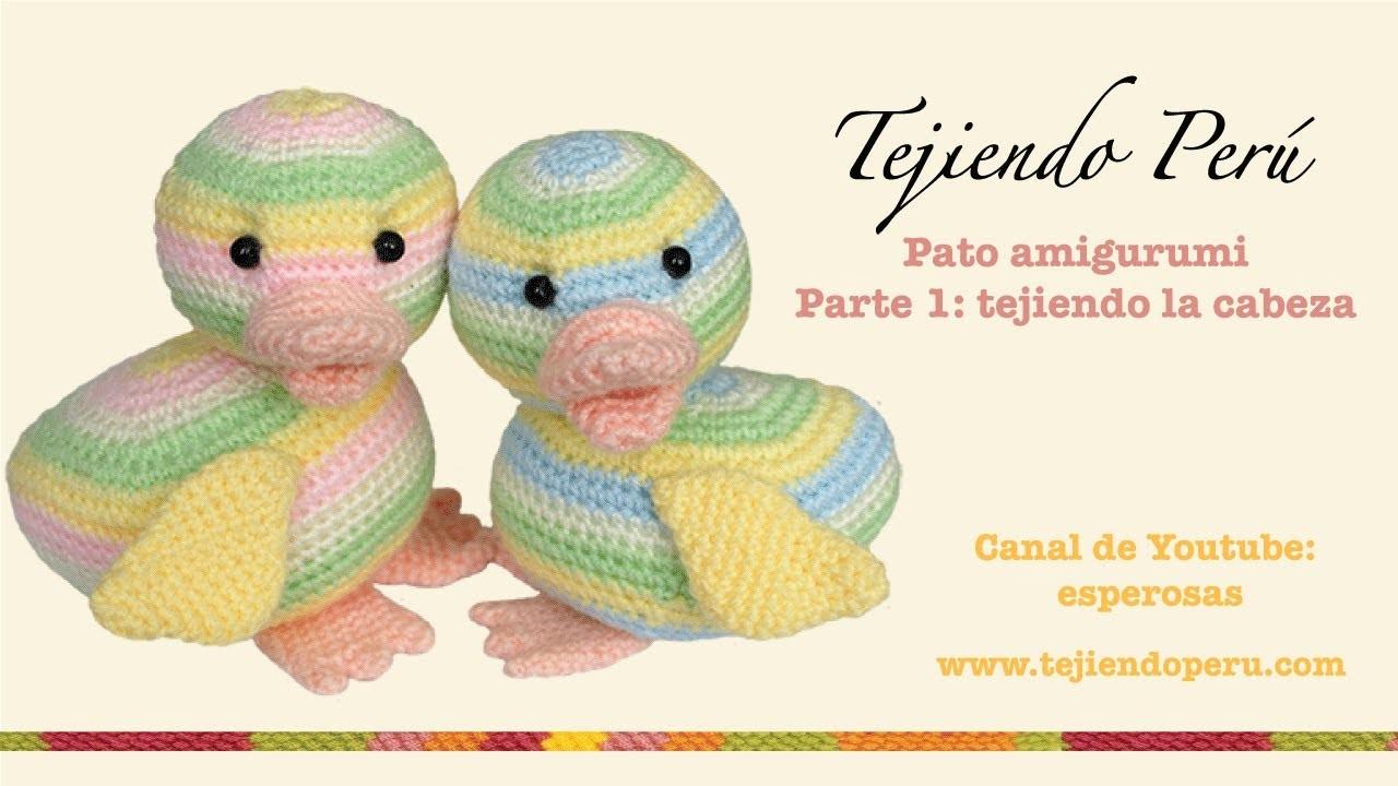 Pato amigurumi (Parte 1: tejiendo la cabeza)