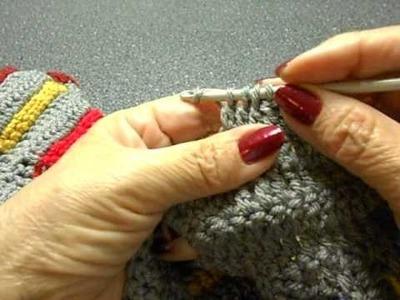 Sweter para niña Crochet parte 3 de 4