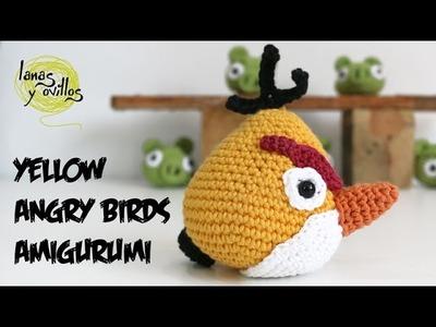 Tutorial Angry Birds Amarillo Amigurumi Yellow 2 de 2 (English subtitles)