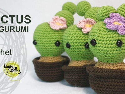 Tutorial Cactus Amigurumi (English Subtitles)