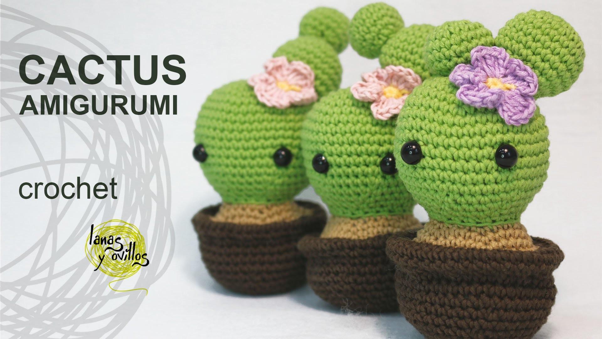 Tutorial Cactus Amigurumi (English Subtitles)
