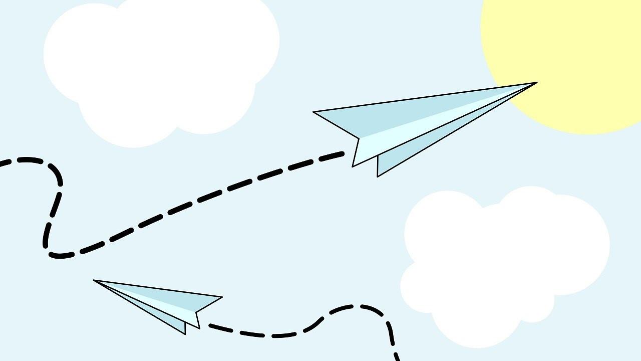 Tutorial. Como hacer aviones de papel (facil) , how to make paper planes (easy)