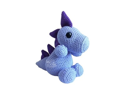 Tutorial Dragon Amigurumi 3-3 (English subtitles)