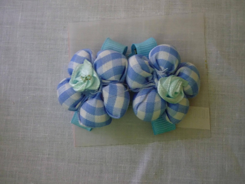 Tutorial flores redondas en te  paso a paso .fabric flowers No.73 Manualidades la Hormiga