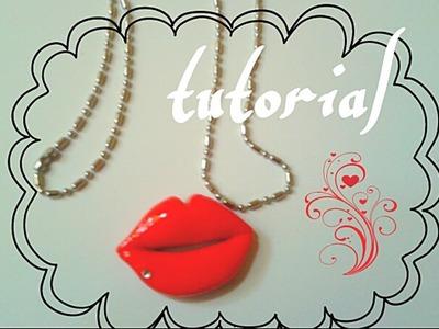 """Tutorial """"labios"""" porcelana fria"""