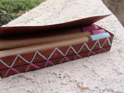 Tutorial: puros de chocolate rellenos de vainilla.DIY chocolate cigars stuffed with vanilla