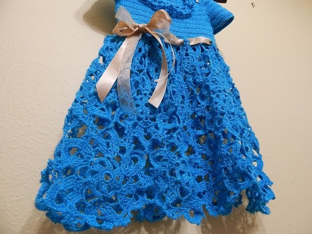 Vestido Linea de Flores parte 2 de 2