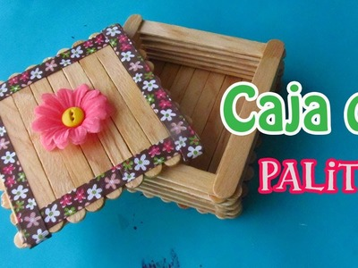 Caja de Palitos de Paleta - floritere - 2013