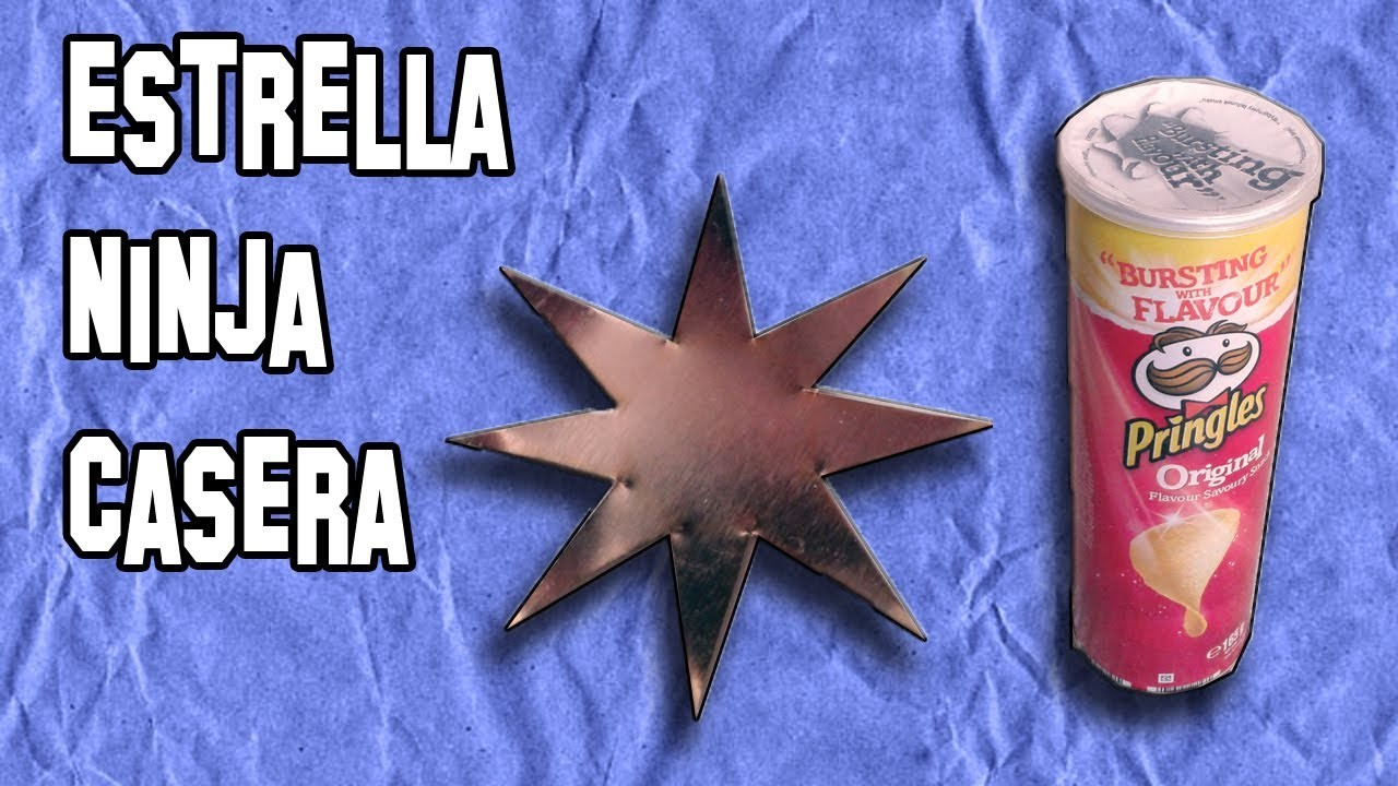 Como Hacer Estrellas Ninja o Shuriken | How to Make or Shuriken Ninja Stars