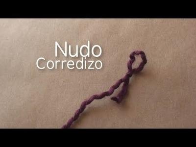 Como hacer nudo corredizo. iniciar tejido en telar