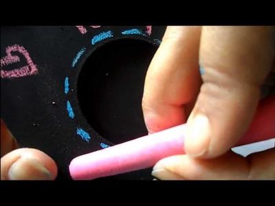 Cómo hacer pintura para pizarrón casera