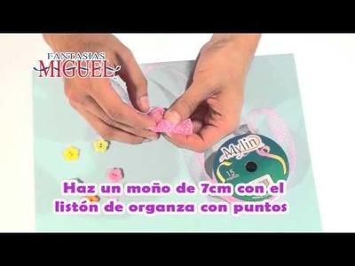 Como Hacer un Centro de Mesa para Baby Shower