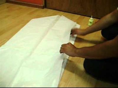 ¿Cómo hacer un globo de papel china?. Brujita
