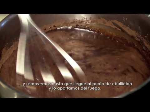 Cómo hacer un SORBETE DE CHOCOLATE