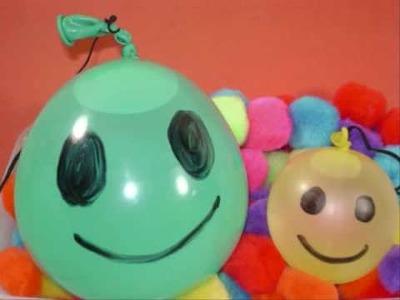 Como hacer un yo-yo de agua con un globo