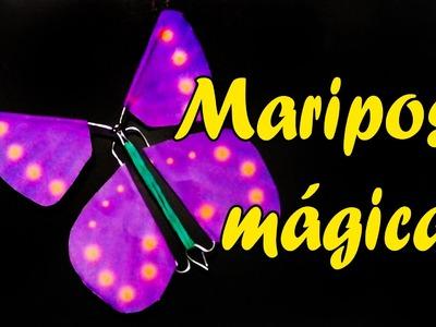 Como hacer una mariposa mágica