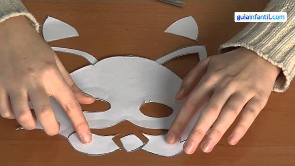 Disfraces de carnaval caseros, hacer una máscara de gato