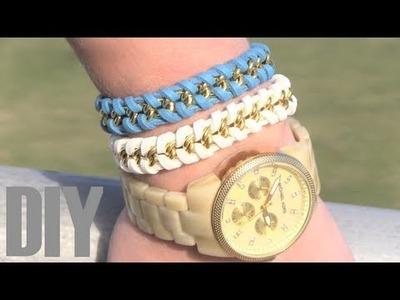 DIY:Como hacer pulseras con cadenas