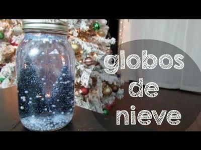 DIY - GLOBOS DE NIEVE!
