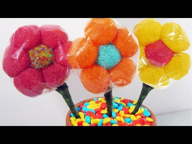 Episodio 624- Cómo hacer un arreglo floral con flores de gominolas