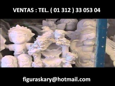 FIGURAS Y ARTESANIAS DE YESO KARY ( COMO FABRICAR ) 4