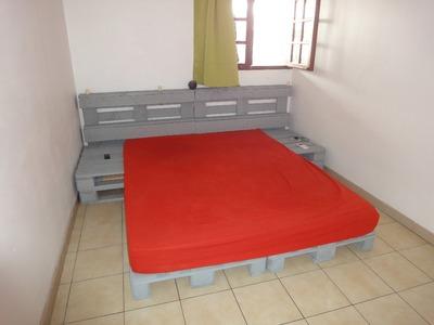 Instrucciones de como hacer una cama con palets