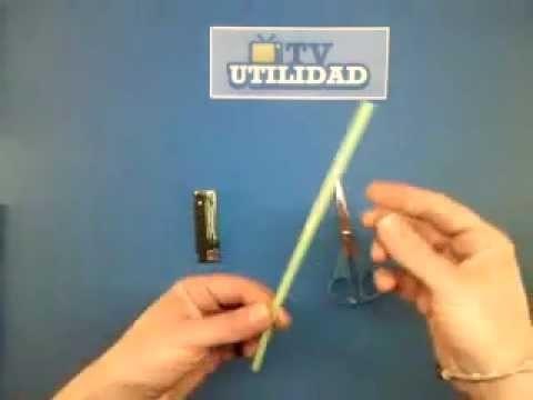 Manualidades:  mini espada láser de Star Wars