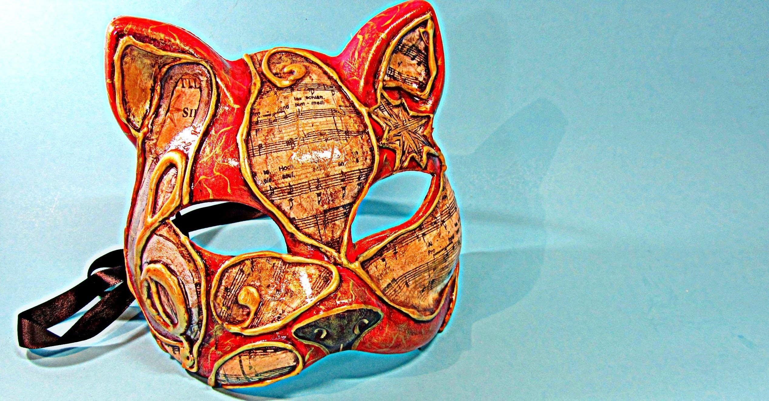 Máscara veneciana. Venetian mask.