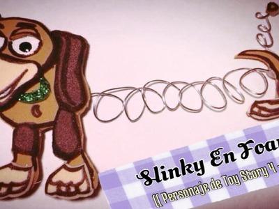 Slinky En Foami (( Personaje De Toy Story 4 -- 8 ))