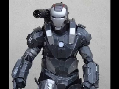 TUTORIAL Como crear tu cosplay armadura con pepakura en foam