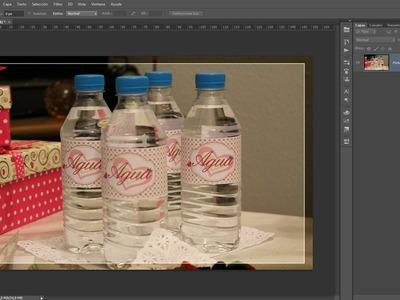 Tutorial Photoshop: Diseñando Etiquetas para botellas.