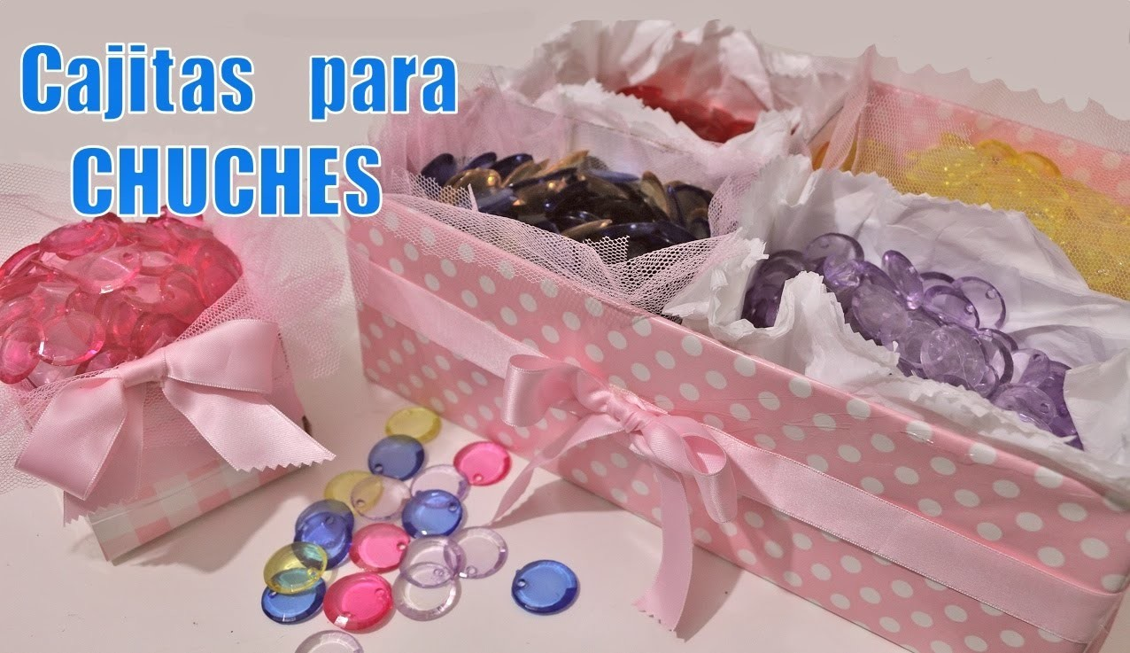 Cajitas para chuches: Ideas de mesa dulce