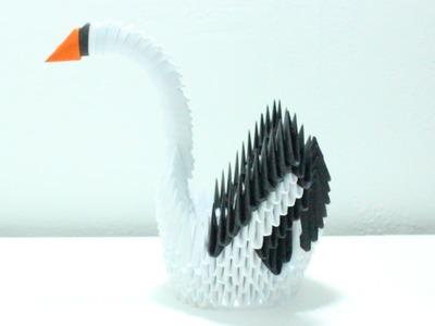 Cisne Origami 3D TUTORIAL