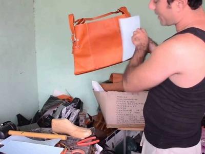 Como hacer un bolso parte 3