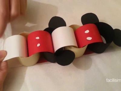 Cómo hacer una cadeneta de Mickey Mouse | facilisimo.com