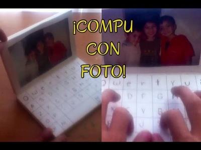 """""""COMPU CON FOTOGRAFIAS"""" (MANUALIDAD) (REGALO) - Consejosjavier"""