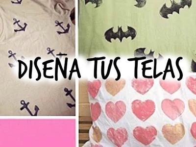 DIY - COMO ESTAMPAR TELA FÁCIL | Tammy Artiga