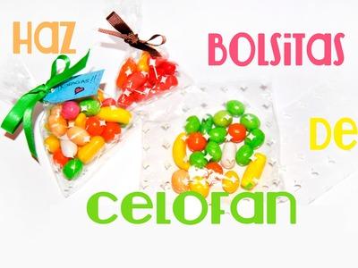 DIY: Como Hacer Bolsitas De Celofan - Brotes De Creatividad