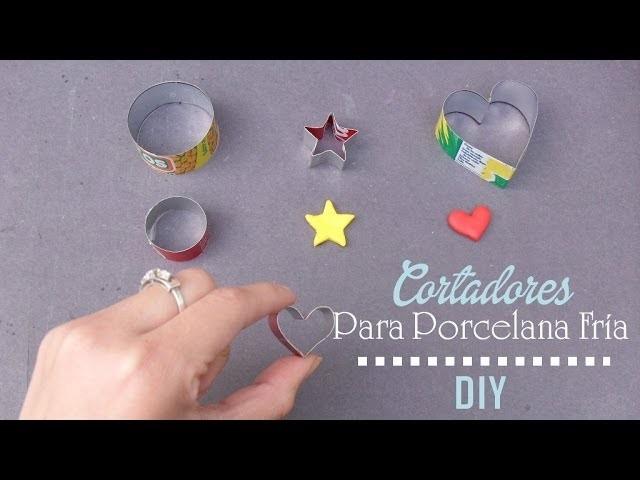 DIY ♥ Cortadores para porcelana fría