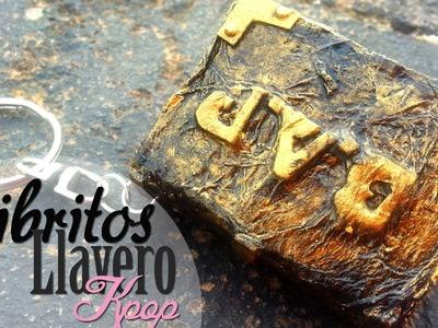 DIY : Libritos LLavero kpop -B.A.P & Hyuna-. Kpop MiniBooks ~