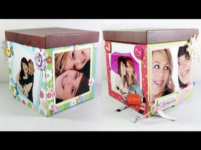 Episodio 575 - Cómo hacer  una caja de scrapbooking para tus amigas o amigos